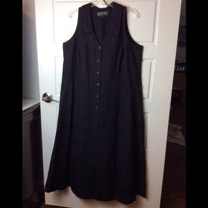 Lane Bryant Linen Sheath Dress. Size 18